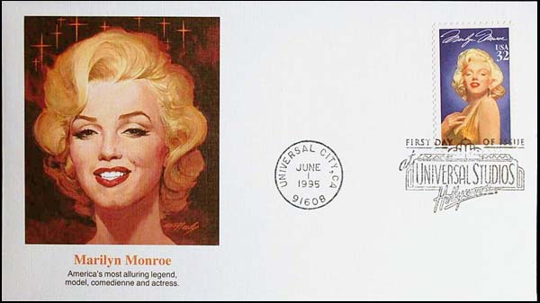 USPS_1995-06-01Marilyn_Monroe_Cover